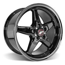 Mustang Race Star Dark Star Wheel - 17x9.5 - Direct Drill (05-17)
