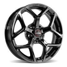 Mustang Race Star 95 Recluse Wheel - 17x4.5  - Black Chrome (05-19)