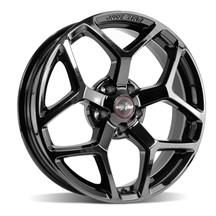 Mustang Race Star Recluse Wheel - 18x5  - Black Chrome (05-18)