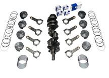 Scat Mustang 331 Forged Rotating Assembly - Flat Top Pistons, H Beam Rods (79-95) 1-45160
