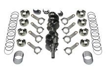 Mustang Scat 331 Forged Rotating Assembly - Dished Pistons, H-Beam Rods (79-95)