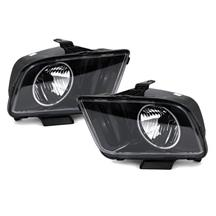 Mustang SVE Halo Headlights Black (05-09)
