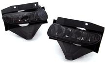 Mustang Smoked Fog Lights  - Black (99-04)