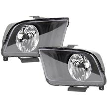 Mustang SVE Headlight Kit Matte Black (05-09)