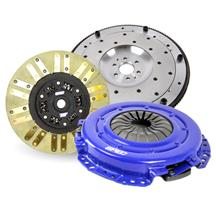 GT500 Spec  Single Disk Stage 2+ Clutch & Steel Flywheel Kit  (07-09)