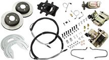 Mustang SSBC 4-Lug Rear Disc Brake Conversion Kit (1993)