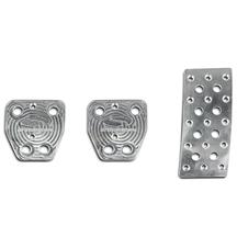 Mustang Steeda Aluminum Pedal Covers - Manual (15-17)