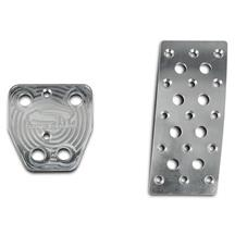 Mustang Steeda Aluminum Pedal Covers - Automatic (15-17)