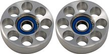 Mustang Steeda Two Piece Billet Idler Pulley Set (05-10)
