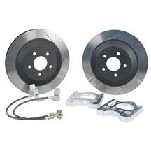 "Mustang Steeda Rear Brake Rotor Upgrade Kit - 13"" (05-14)"