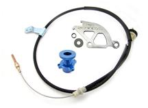 Mustang Steeda Adjustable Clutch Cable Kit 5.0L/3.8L (82-04)