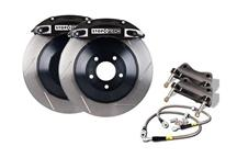"Mustang StopTech Front Big Brake Kit, 14"" Rotors, 4 Piston Calipers Black (05-14)"
