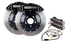 "Mustang StopTech 15"" Front Big Brake Kit w/ 6 Piston Calipers Black (07-14)"