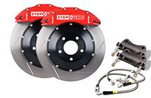 "Mustang StopTech 15"" Front Big Brake Kit w/ 6 Piston Calipers Red (07-14)"