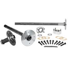 Mustang Strange Axle, Spool, & C-Clip Eliminator Kit  - 4-Lug - 35 Spline (86-93)