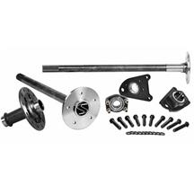 Mustang Strange Axle, Spool, & C-Clip Eliminator Kit  - 35 Spline - Cobra Brakes (99-04)