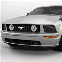 Mustang Smoked Headlight Tint (05-09)