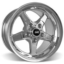 Mustang SVE Drag Wheel 15X10 Chrome (94-04)