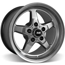 Mustang SVE Drag Wheel 15X10 Dark Stainless (94-04)