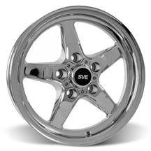 Mustang SVE Drag Wheel 15x3.75  - Chrome (94-10)