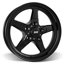 Mustang SVE Drag Wheel - 15x3.75  - Gloss Black (94-10)