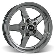 Mustang SVE Drag Wheel 15X3.75 Dark Stainless (94-10)
