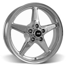 Mustang SVE Drag Wheel 17x4.5  - Chrome (94-14)
