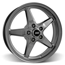 Mustang SVE Drag Wheel 17X4.5 Dark Stainless (94-14)