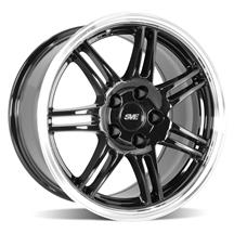 Mustang SVE Anniversary Wheel - 17x9 Black W/ Machined Lip (94-04)