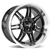 Mustang SVE Deep Dish Anniversary Wheel - 17x10 Black W/ Machined Lip (94-04)