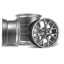 Mustang SVE Drift Wheel Kit - 18x10  - Dark Stainless (05-14)