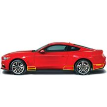 Mustang Anchor Room Front And Rear Quarter Panel Paint Protection Film (15-17)