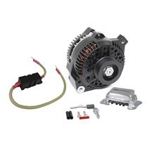 SVE Mustang 130 Amp Alternator 1g to 3g Upgrade   - Black (79-85) 5.0