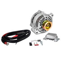 Mustang SVE 130 Amp Alternator 1g to 3g Upgrade (79-85)