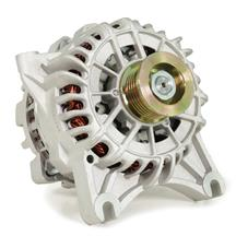 Mustang SVE 130 Amp Alternator  - Bare Aluminum (99-04)
