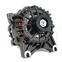 Mustang SVE 130 Amp Alternator  - Flat Black (99-04)