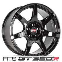 SVE Mustang R350 Wheel - 19x10 - (GT350/GT350R Specific)  - Gloss Black (15-20)