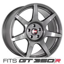 Mustang SVE R350 Wheel - 19x10  - Liquid Graphite (15-19)