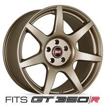 Mustang SVE R350 Wheel - 19x10  - Satin Bronze (15-19)