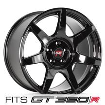 SVE Mustang R350 Wheel - 19x11 - (GT350/GT350R Specific)  - Gloss Black (15-20)