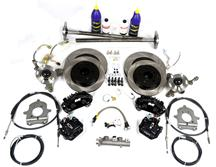 Mustang SVE  5-Lug Conversion Kit - 28 Spline Black (87-92)