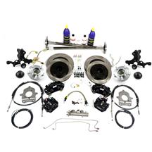 Mustang SVE 5-Lug Conversion Kit - 28 Spline Black (1993)