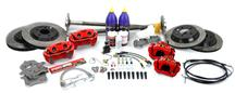 Mustang SVE  5-Lug Conversion Kit - 28 Spline Red (93-93)