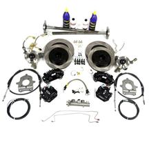 Mustang SVE 5-Lug Conversion Kit, 31 Spline Black (87-93)