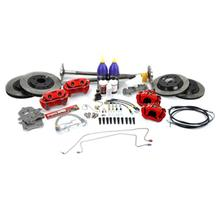 Mustang SVE 5-Lug Conversion Kit, 31 Spline Red (87-92)