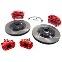 "Mustang SVE 13"" Cobra Style Front & Rear Brake Kit  Red (94-04)"