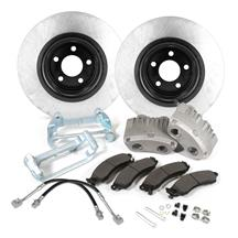 "Mustang SVE 13"" Cobra Style Front Brake Kit w/ Stock Rotors  - Bare (94-04)"