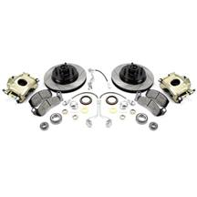 "Mustang SVE 4 Lug Front Brake Upgrade Kit - 11"" (87-93)"