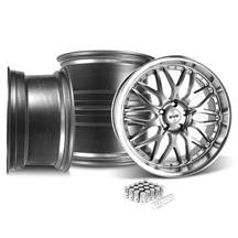 Mustang SVE Series 3 Wheel & Lug Nut Kit - 20x8.5/10 Gun Metal (15-17)