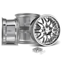 Mustang SVE Series 3 Wheel & Lug Nut Kit - 20x8.5 Chrome (05-14)